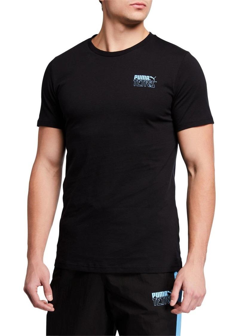Puma Men's x TETRIS Crewneck T-Shirt