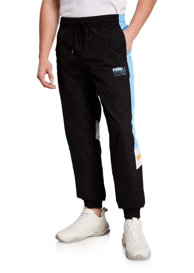 Puma Men's x TETRIS Side-Stripe Track Pants