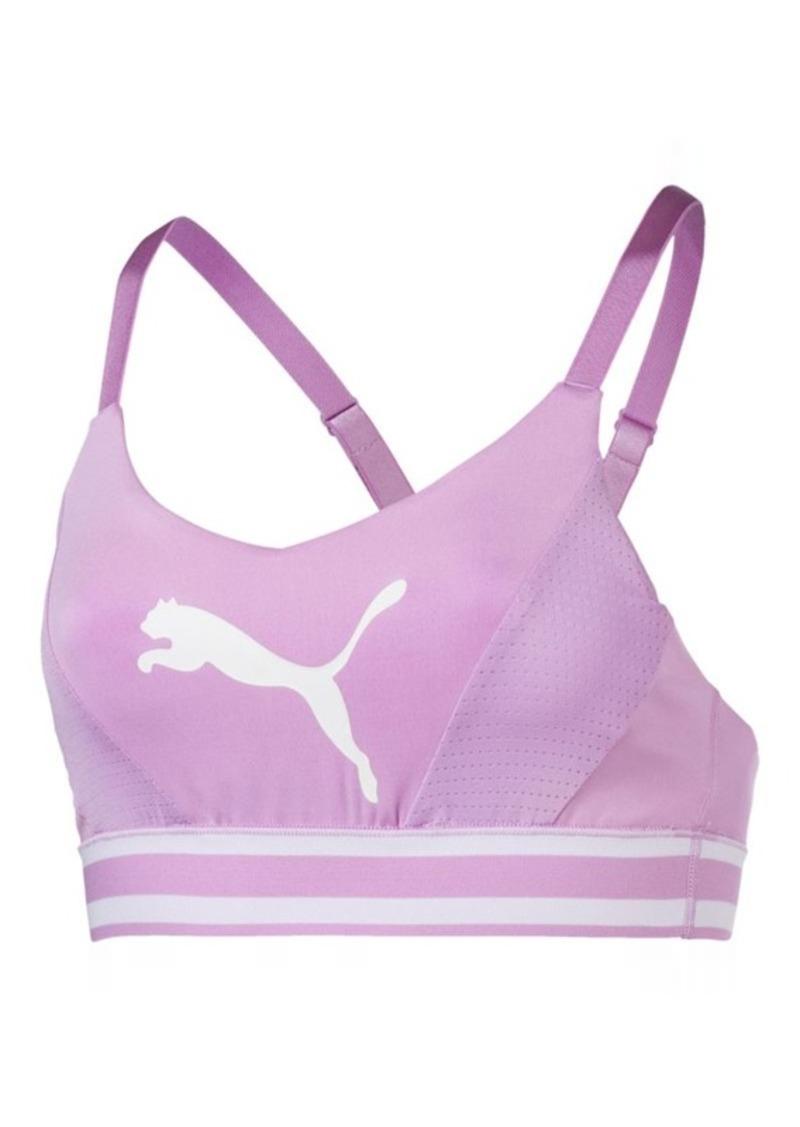 654f70a6537af Puma Mid Impact Logo Women s Bra Top