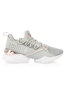 Puma Women's Muse Maia Metallic Sneakers