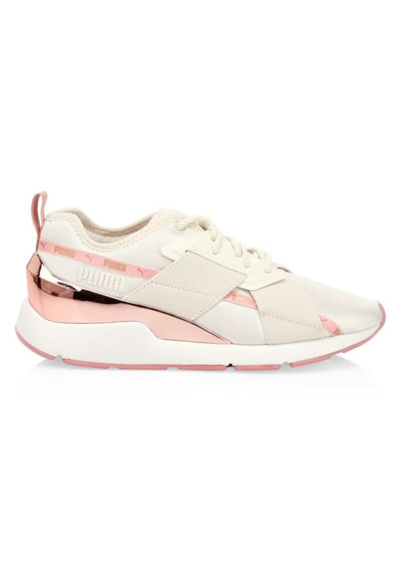 Puma Muse X-2 Metallic Sneakers