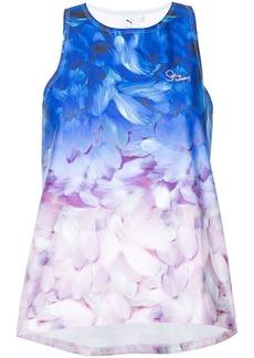 Puma ombré floral-print tank top