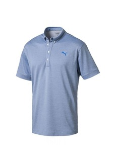 Puma Golf Men's Oxford Heather Polo