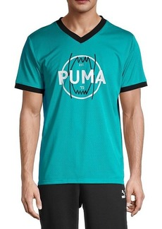 Puma Parquet Vintage-Style Jersey T-Shirt