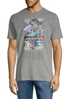 Puma Photoprint Shoe Short-Sleeve Tee
