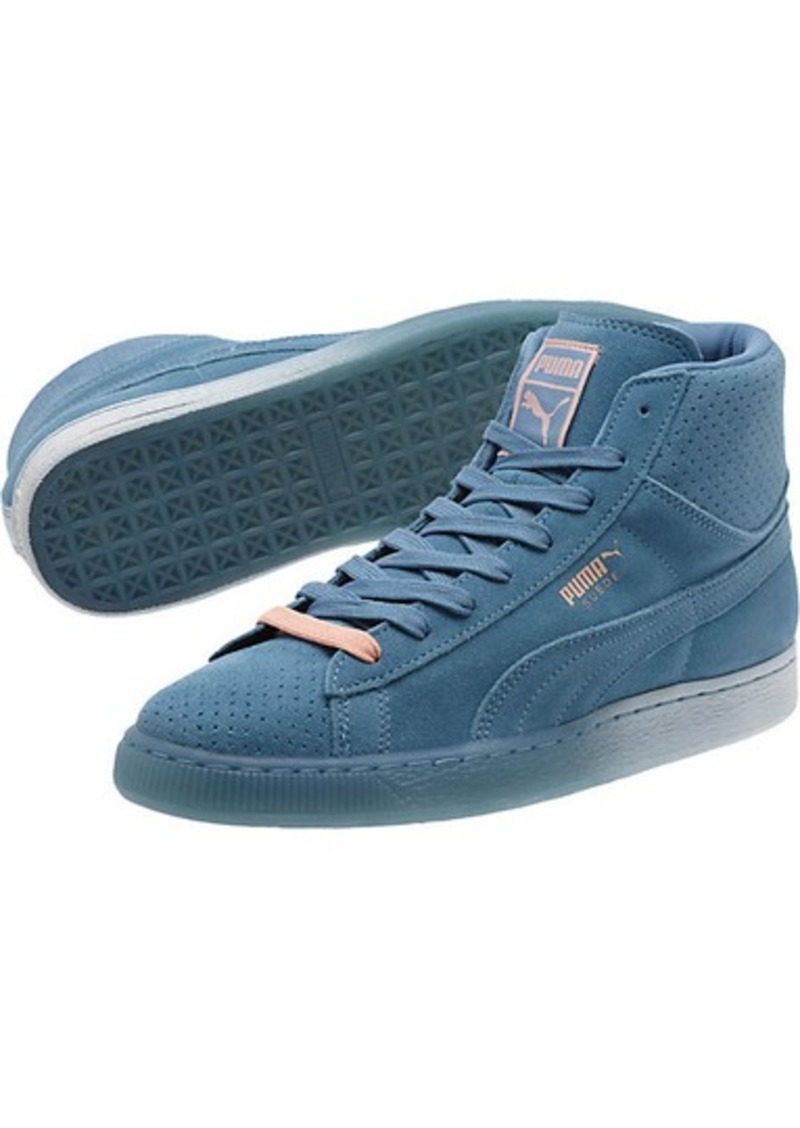 super popular fcf8f cd014 Puma Pink Dolphin Suede Classic + Mid Men's Sneakers | Shoes