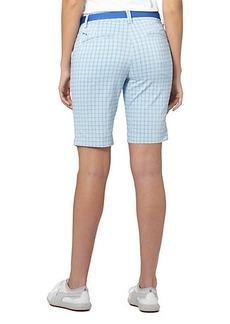 Puma Plaid Golf Bermuda Shorts
