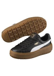 Puma Platform Women's Trace Leather Sneakers