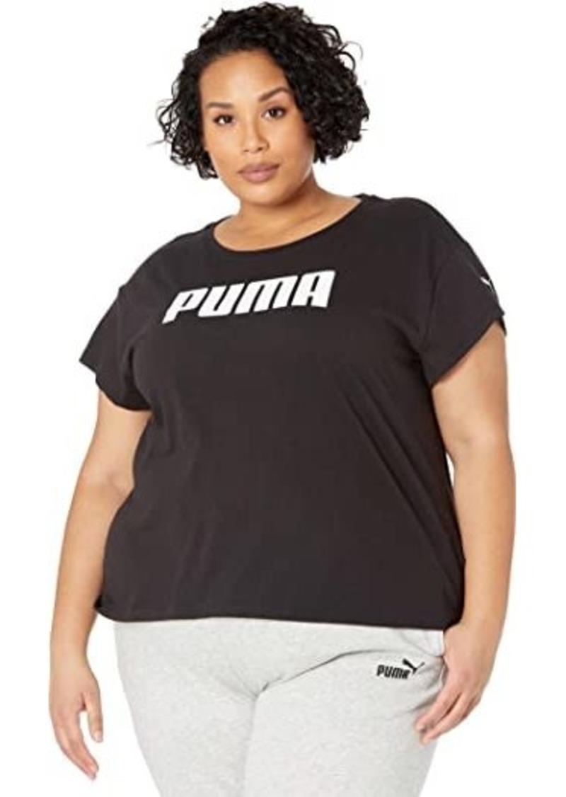 Puma Plus Size Active Logo Tee