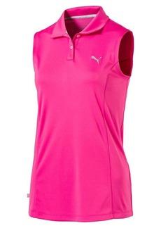 Puma Pounce Sleeveless Golf Polo Shirt