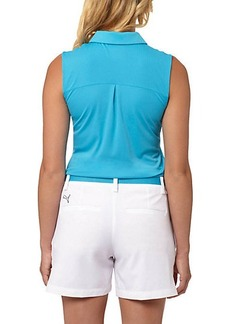 Puma Pounce Sleeveless Golf Polo Shirt