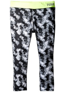 Puma Printed Capris (Big Kids)