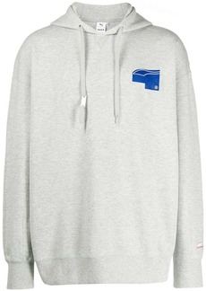 Puma printed logo hoodie