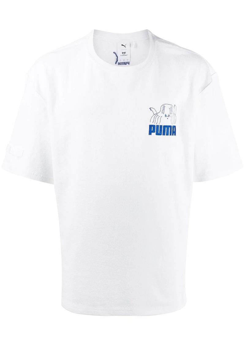 Puma printed logo T-shirt