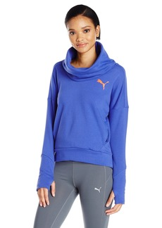 Puma PUA Women's Elevated Rollneck Sweatshirt  edium