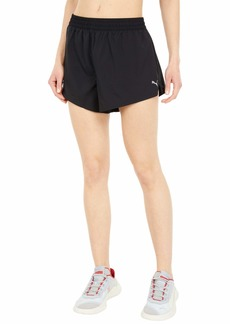 "PUMA Women's 3"" Run Favorite Woven Shorts Black"