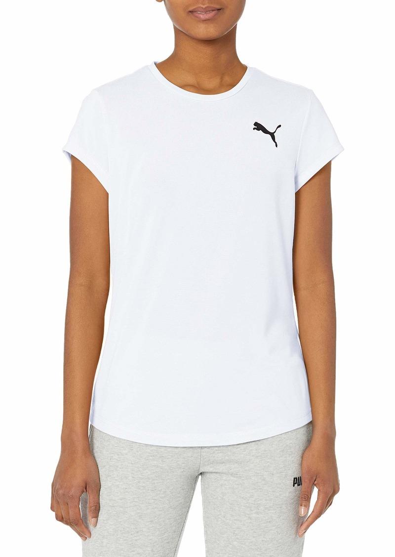 PUMA womens Active Tee T Shirt   US