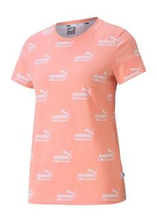 Puma Amplified Cotton Logo-Print T-Shirt