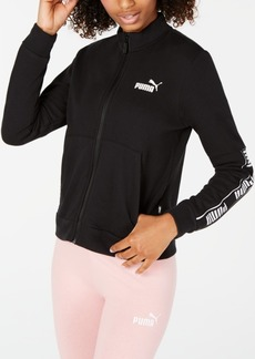 Puma Amplified Cotton Logo Zip Jacket