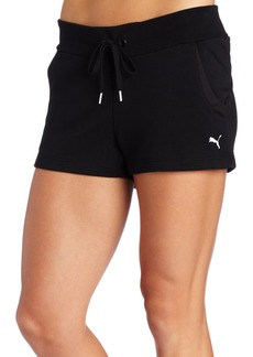 PUMA Women's French Terry Sweat Shorts