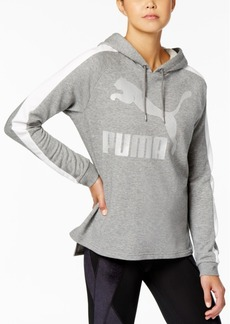 Puma Archive T7 Metallic-Logo Hoodie, Created for Macy's