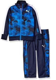 PUMA Baby Boys' 2 Piece Camo Jacket Tricot Track Suit