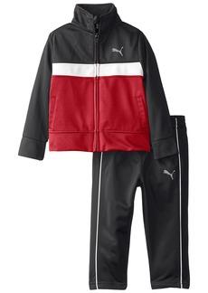 PUMA Baby Boys' Tricot Jacket and Pant Set Puma Black