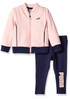 PUMA Baby Girls Track Jacket and Legging Set  12M