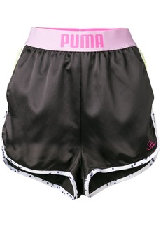 Puma banded mesh side runner shorts - Black
