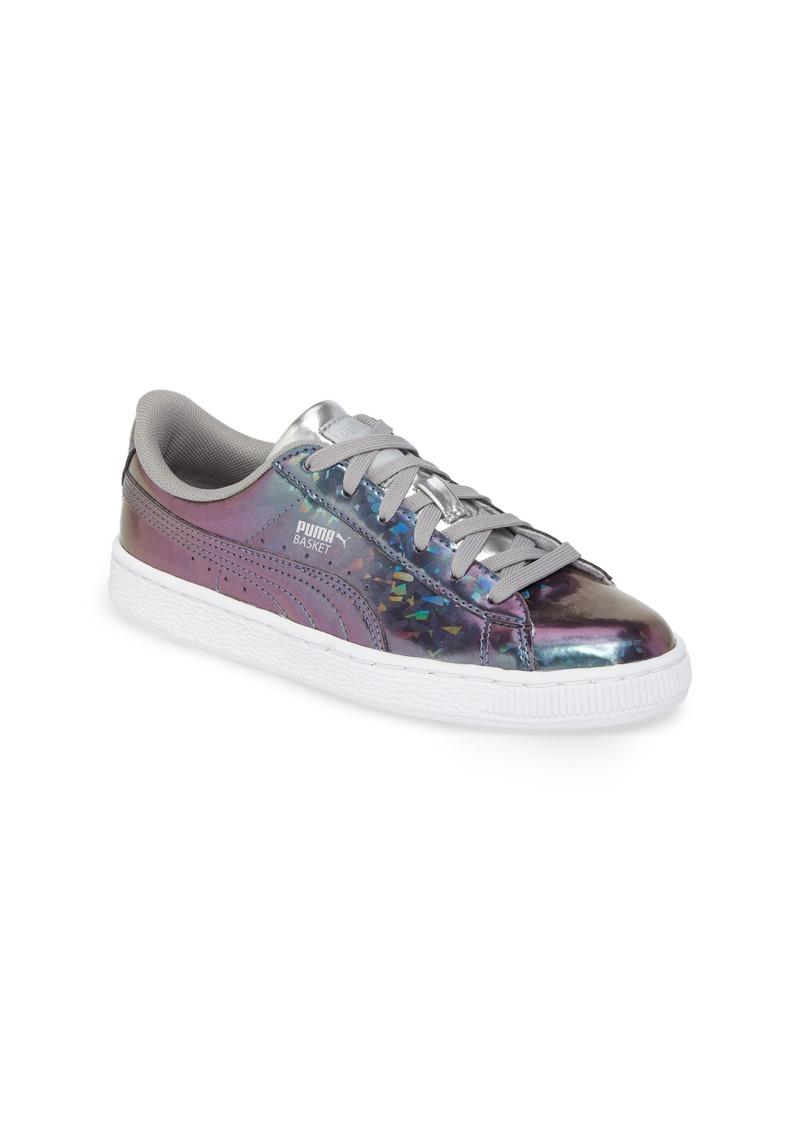 quality design dbc2c f4922 Puma PUMA Basket Classic Holo Jr. Sneaker (Big Kid) | Shoes