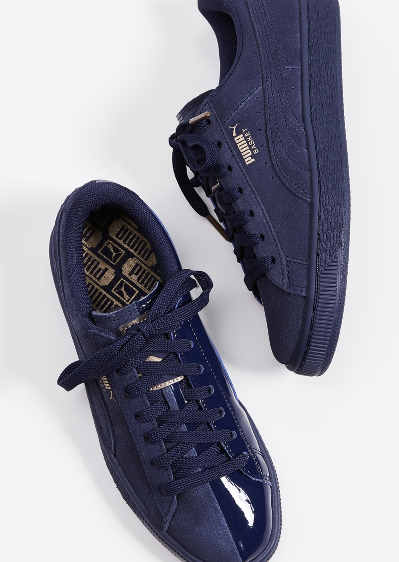 newest bbe1d 75670 Basket Classic Lunar Glow Sneakers