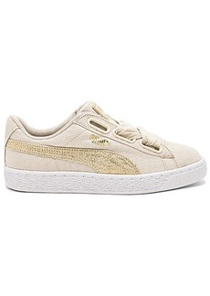 Puma Basket Heart Canvas Sneaker