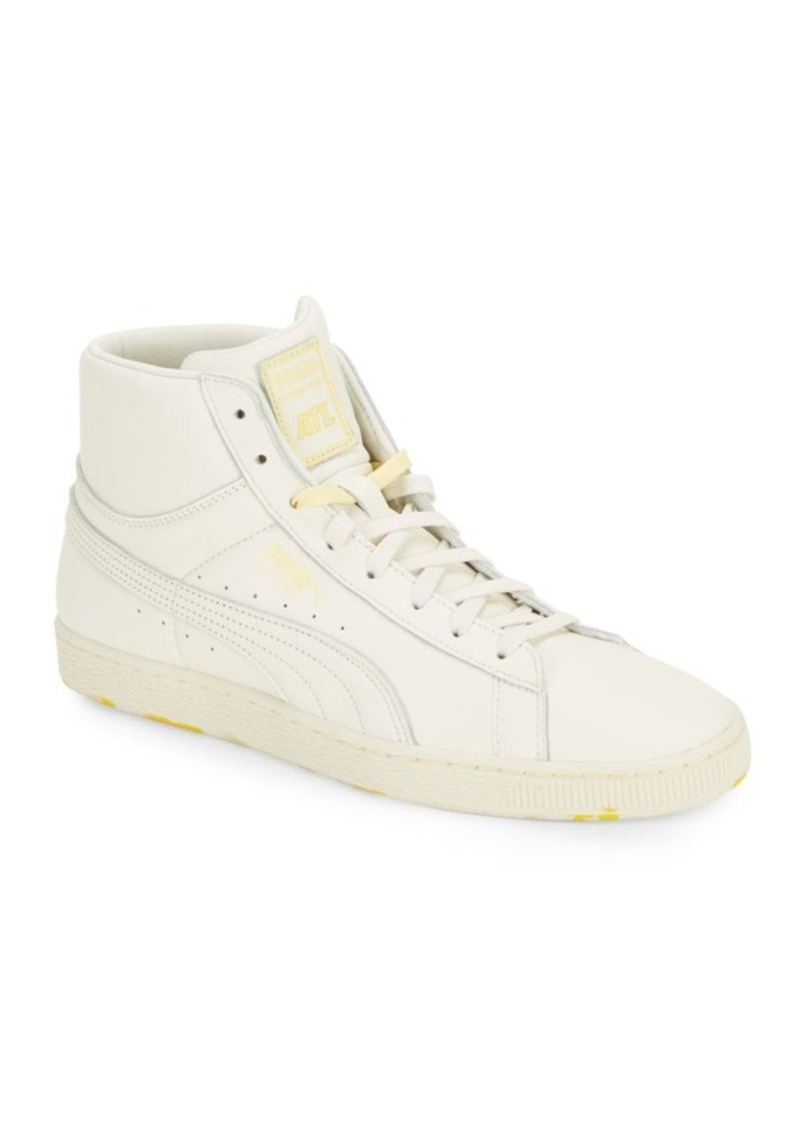 87930067bef5 Puma PUMA Basket Leather High-Top Sneakers