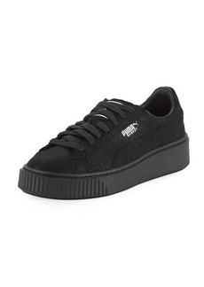 Puma Basket Leather Platform Sneaker
