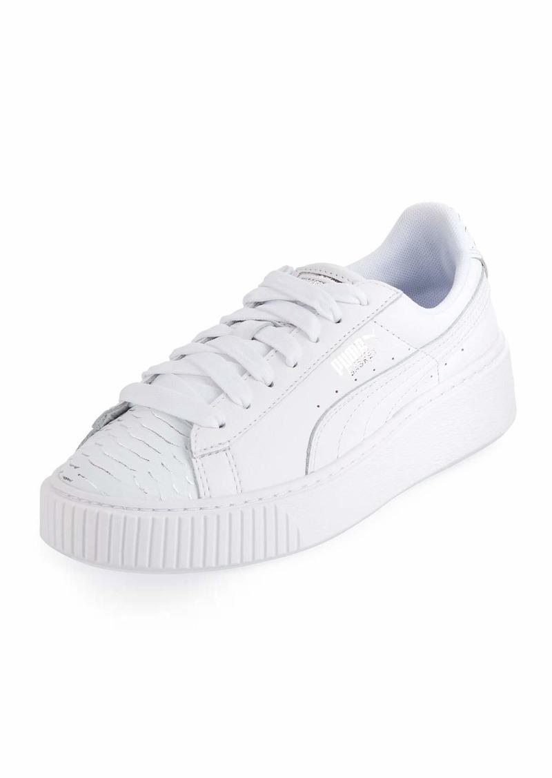 314ceeafafd Puma Basket Platform Ocean Sneakers