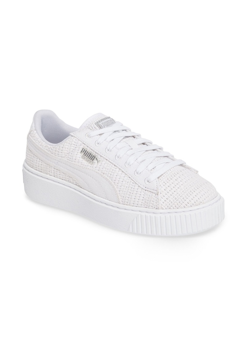 new concept ce09b 86245 Puma PUMA Basket Platform Sneaker (Women) | Shoes