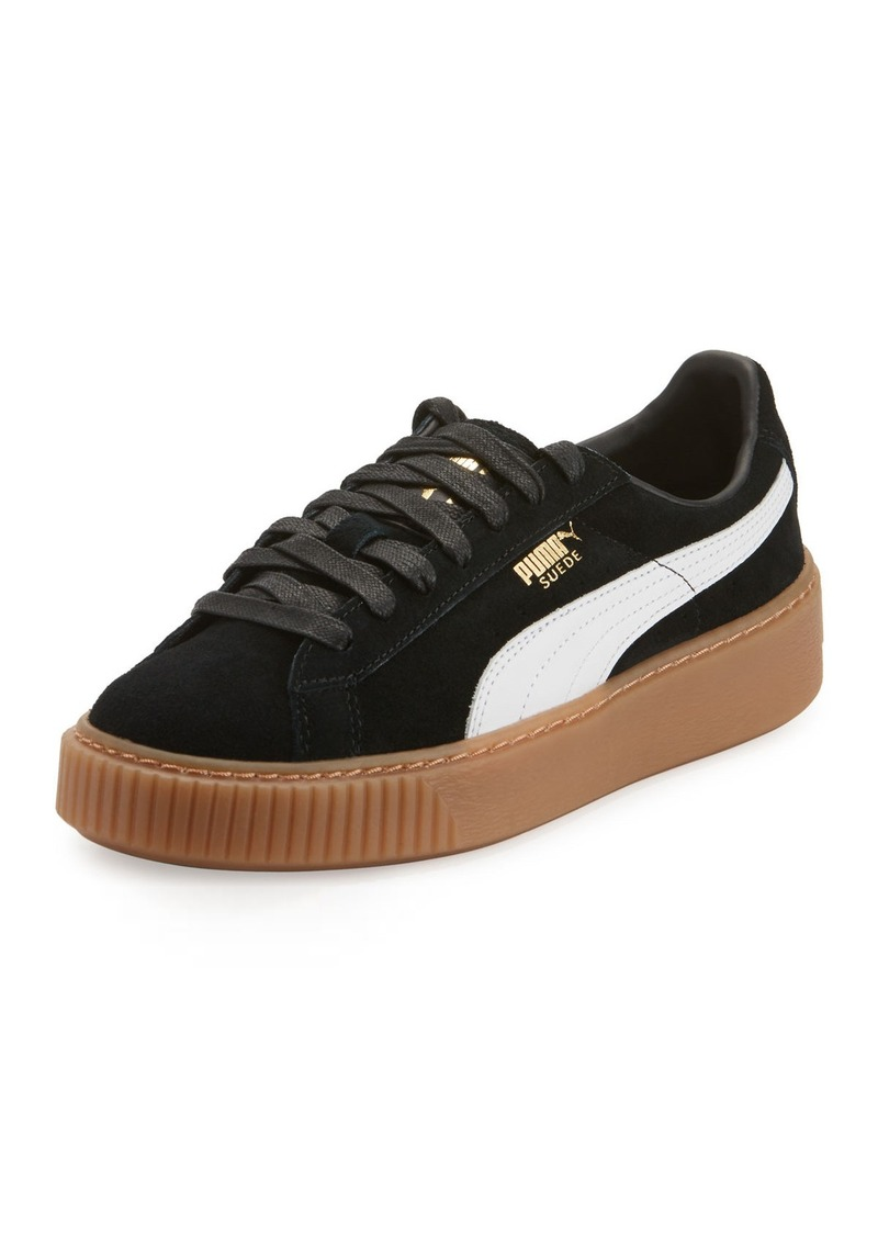 sports shoes b8a28 24839 Puma Puma Basket Suede Platform Creeper | Shoes