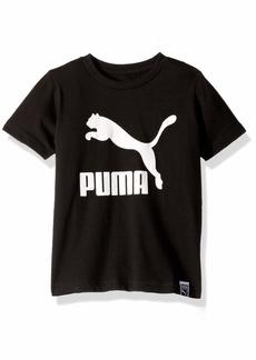 PUMA Big Boys' Archive Logo T-Shirt Black M