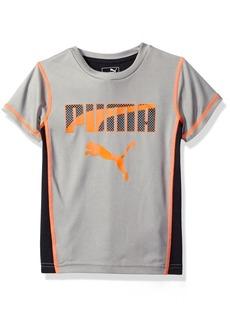 PUMA Big Boys' Athletic Tee Shirts