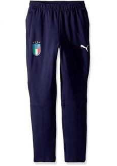 PUMA Boys' Big FIGC Italia Training Pants Kids  L