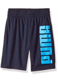 PUMA Big Boys' Screenprint Performance Shorts