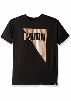 PUMA Big Boys' T-Shirt Black XL