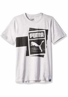 PUMA Big Boys' T-Shirt  S