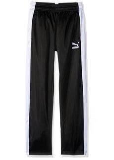 PUMA Big Boys' Track Pants Black M
