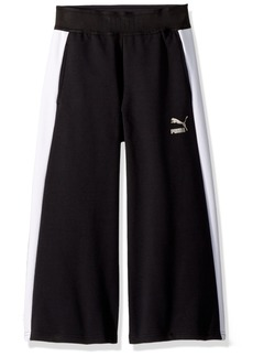 PUMA Big Girls' Evo Pants Black Large (12/14)