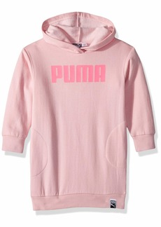 PUMA Big Girls' Fleece Hoodie Dress  M
