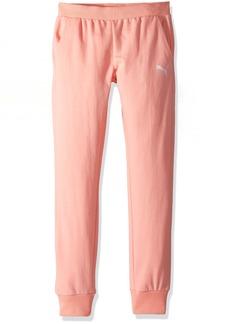 PUMA Big Girls' Joggers  Large (12/14)