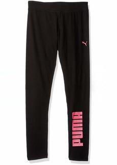 PUMA Big Girls' Legging Black M