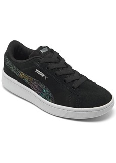 Puma Big Girls Vikky V2 Suede Casual Sneakers from Finish Line