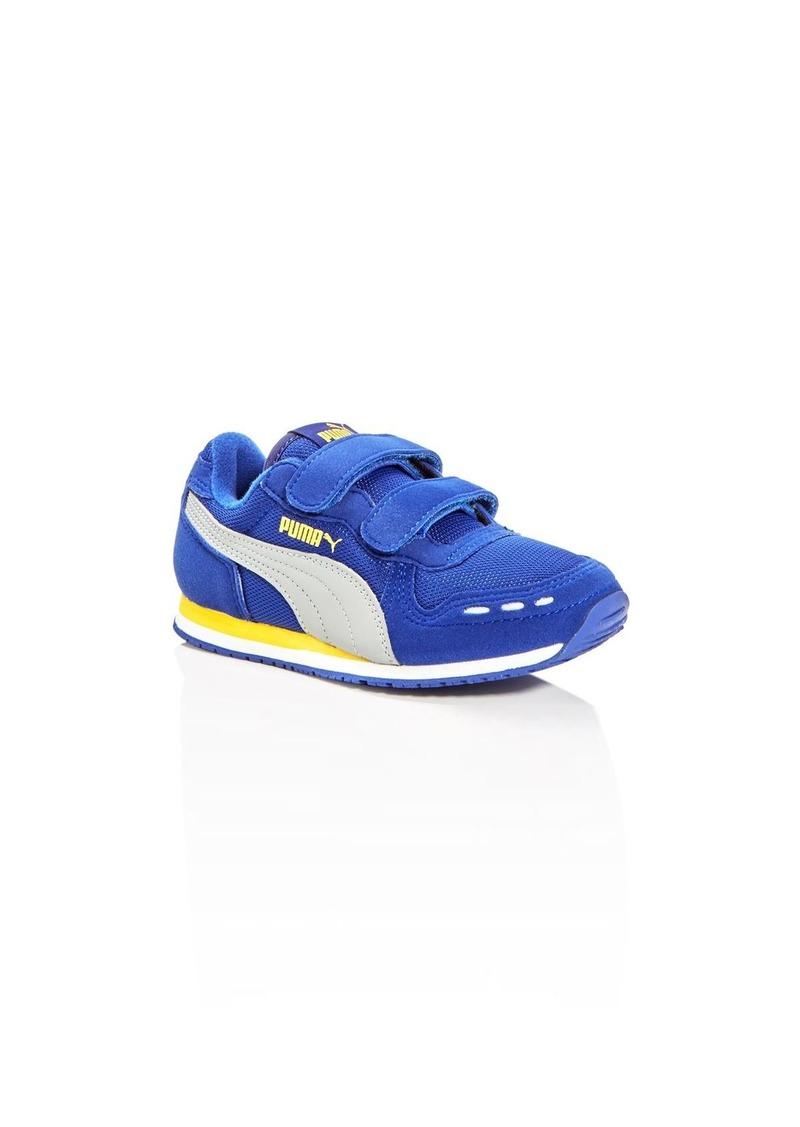 PUMA Boys' Cabana Racer Mesh V Sneakers - Toddler, Little Kid
